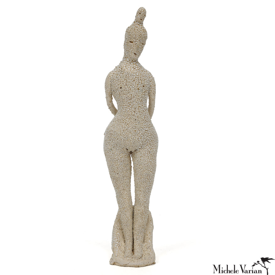 Elegant Totem Lady Sculpture
