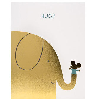 Elephant Hug Card