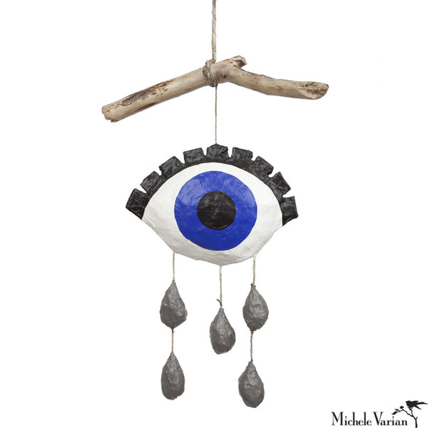 Crying Eye Mobile Blue