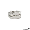 Sculptural Femina Silver Ring