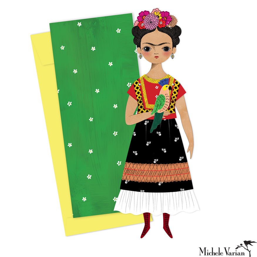 Frida Small Paper Doll
