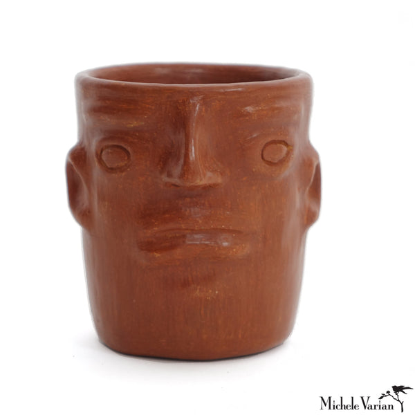 Ceramic Face Pot