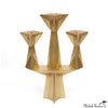 Faceted Candelabra