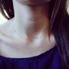 Gold Flutter Necklace