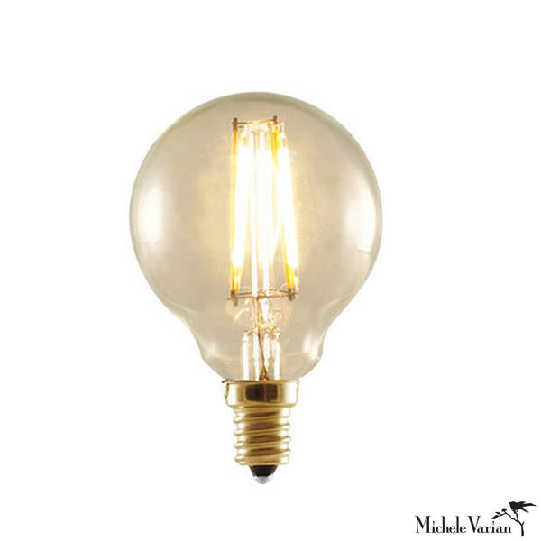 LED Antique Nostalgic Filament E12 Base G16 Bulb
