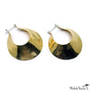 Brass Gabo Earrings