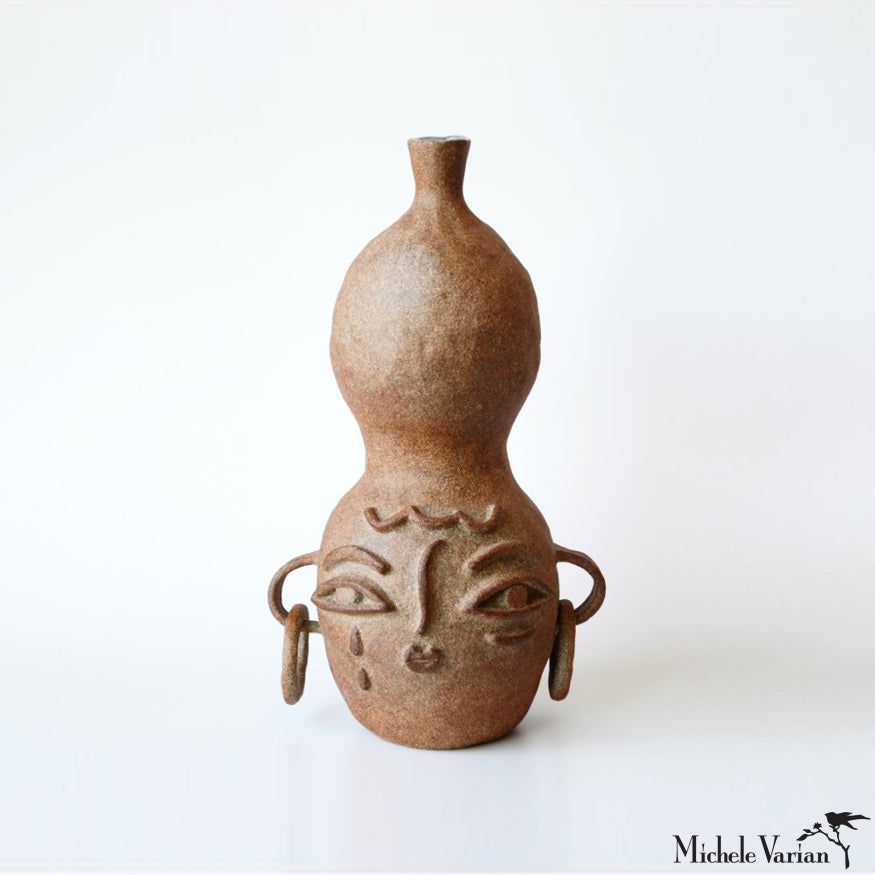 Gala Stoneware One-of-a-Kind Vase