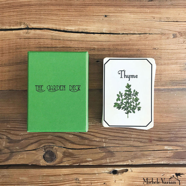 Black & Green Garden Card Deck