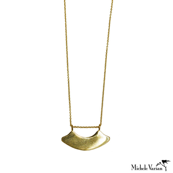 Gold Arch Necklace