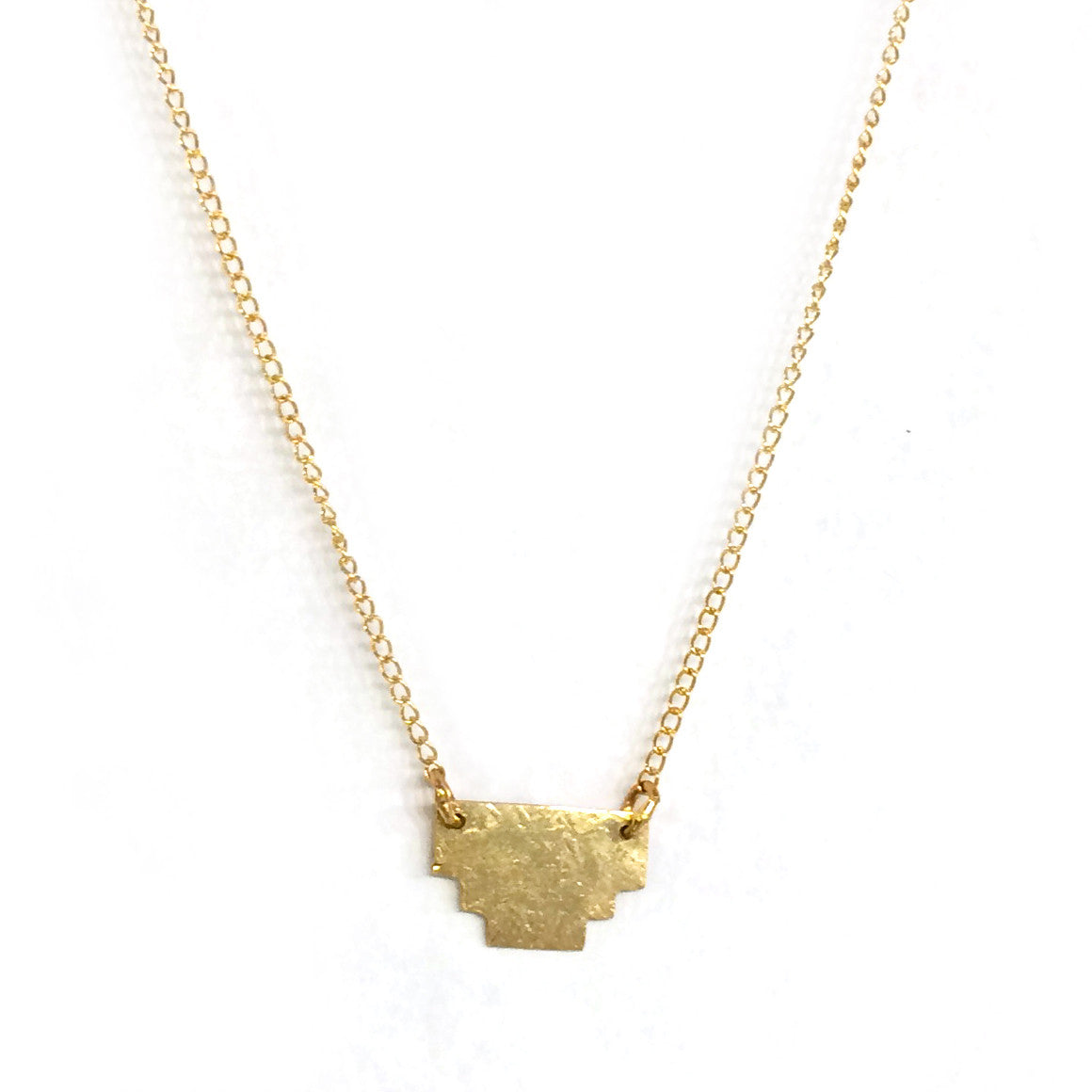 Gold Step Necklace