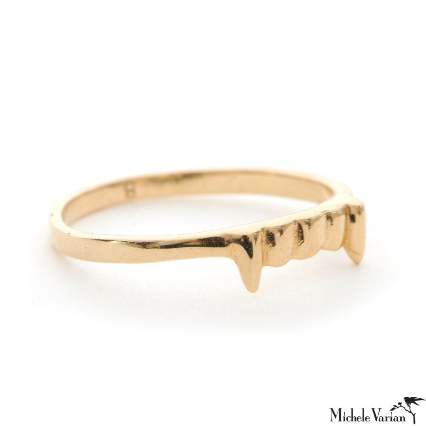 Gold Vamp Ring