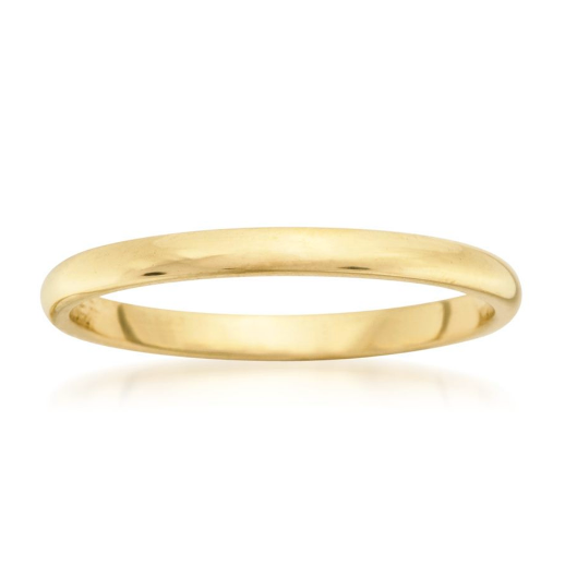 Classic Gold Band 2mm