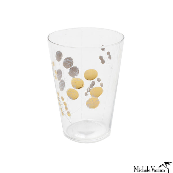 Golden Berry Glasses Set of 6