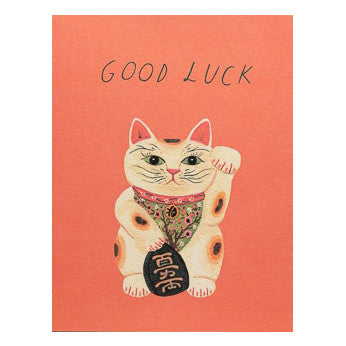 Good Luck Kitty Card