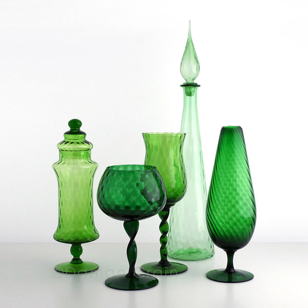 Empoli Glass Green Group 6