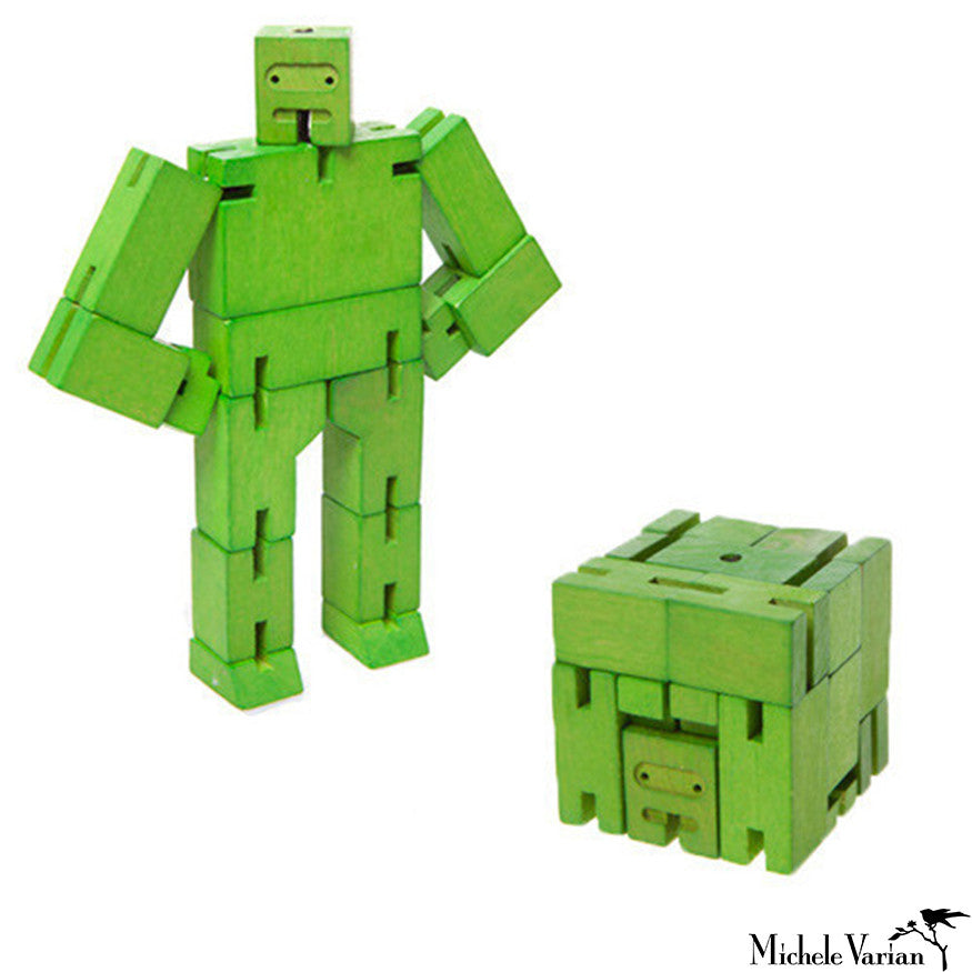 Mini Green Cubebot