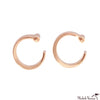 Rose Gold Hugger Hoop