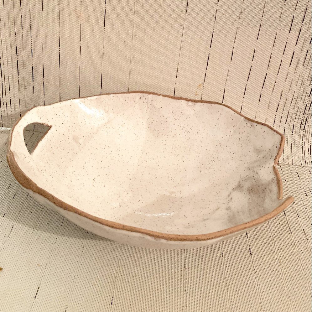Hand Built Serving Dish