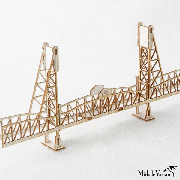 Hawthorne Bridge 3D Model Kit