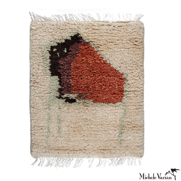 Abstract Houses Shag Rug