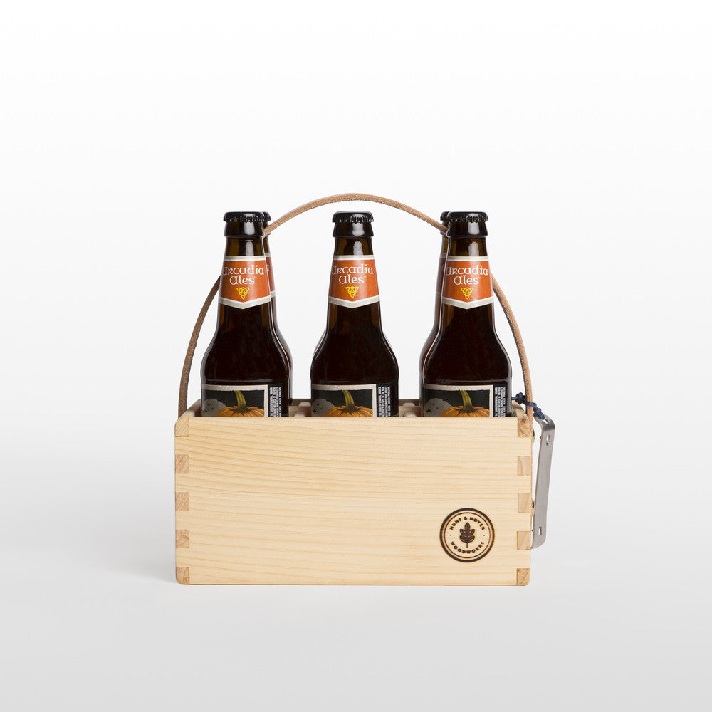 Pine Beer Caddy
