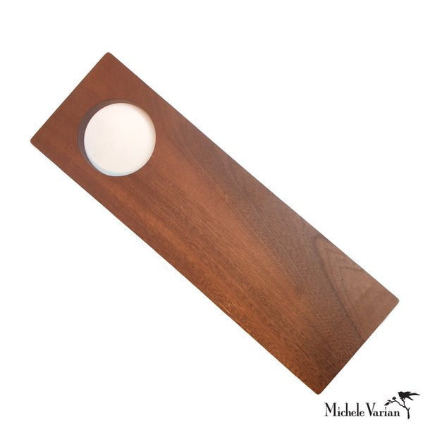 Rectangle Wooden Serving Board with Hole