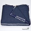 Indigo Quilt with Tassel