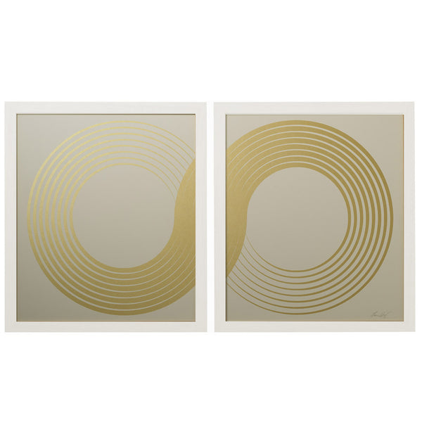 Framed Artwork Infinity Diptych