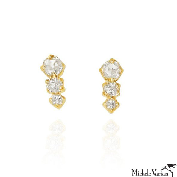 Joni Diamond Stud Earrings