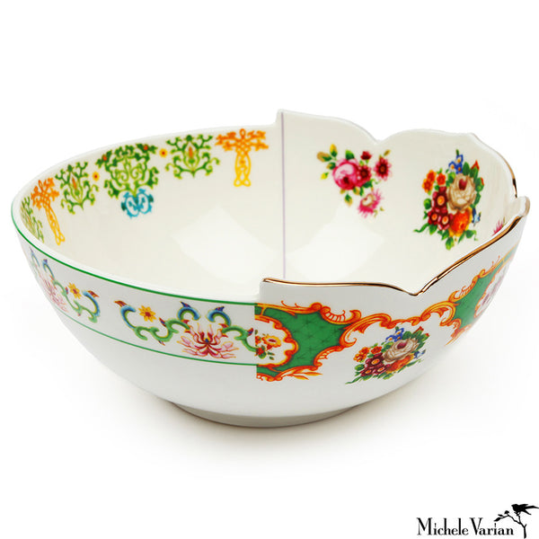 Juxtaposed Zaira Porcelain Serving Bowl
