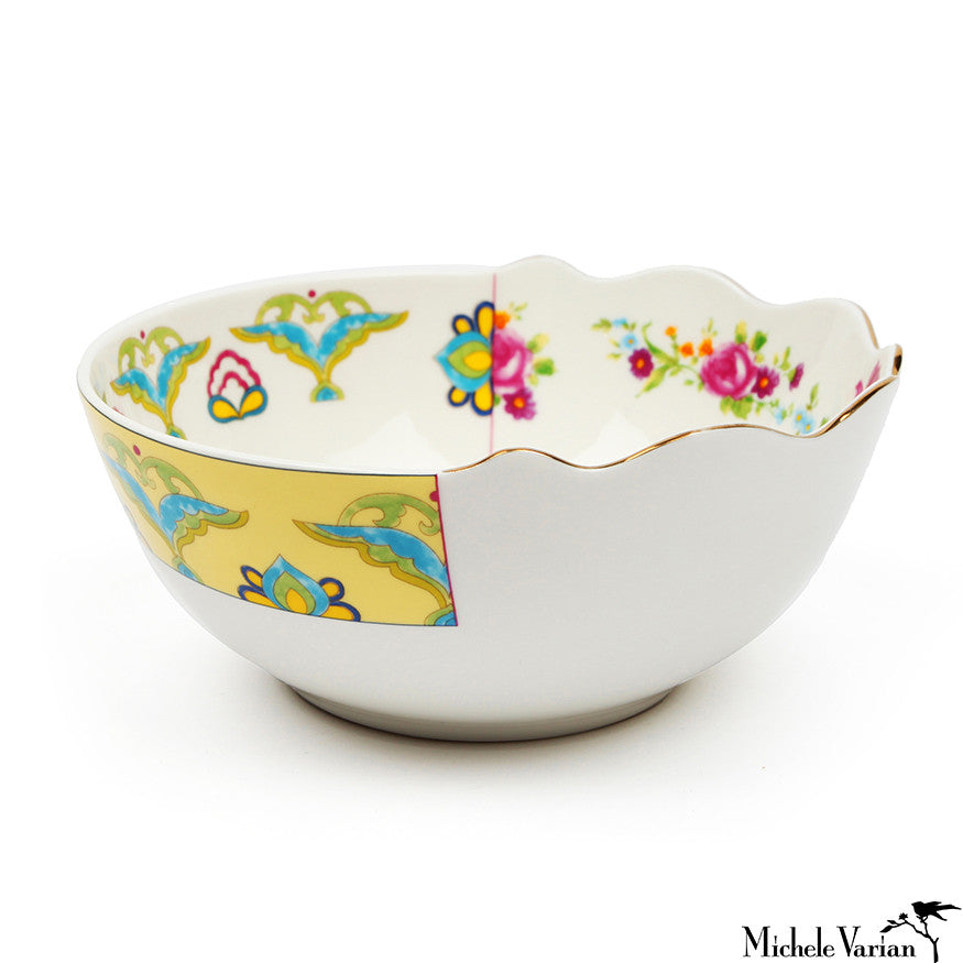 Juxtaposed Bauci Porcelain Bowl