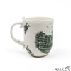Juxtaposed Fedora Porcelain Mug