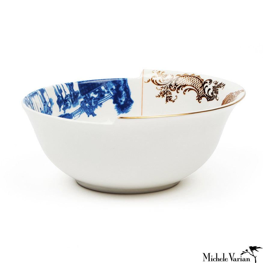 Juxtaposed Despina Porcelain Bowl