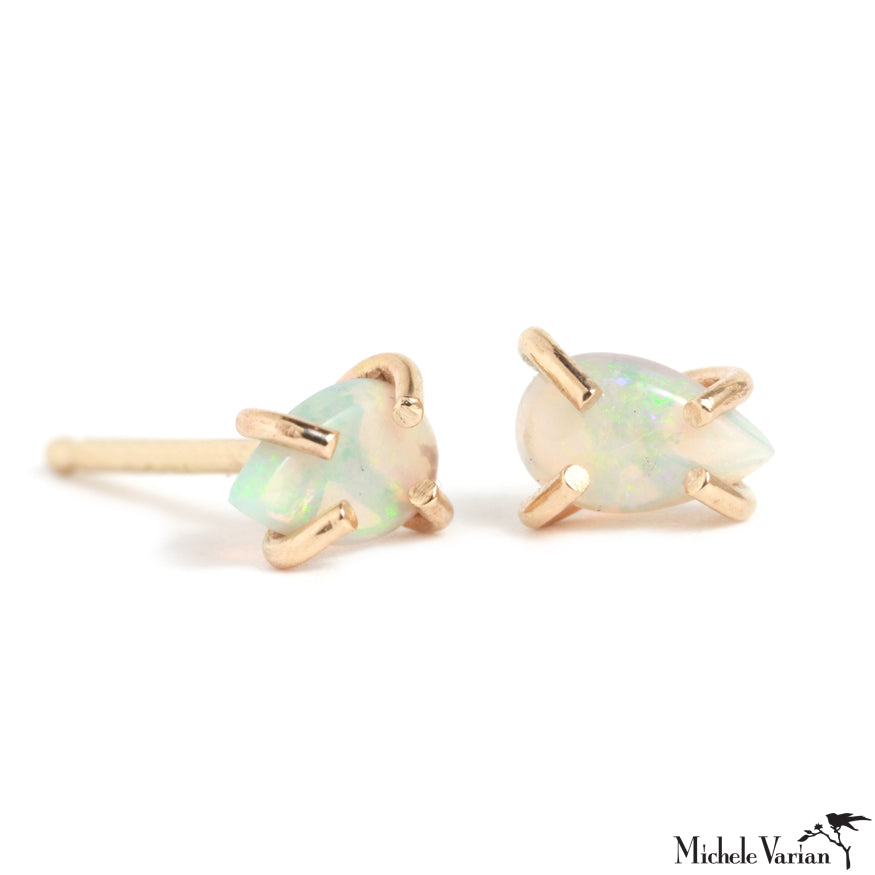 Limited Edition Gold Australian Opal Doublet Earring