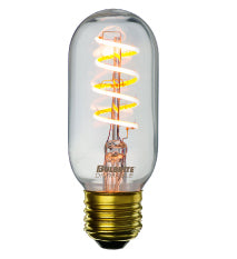 LED Antique Curved Filament E26 Base T14 Bulb