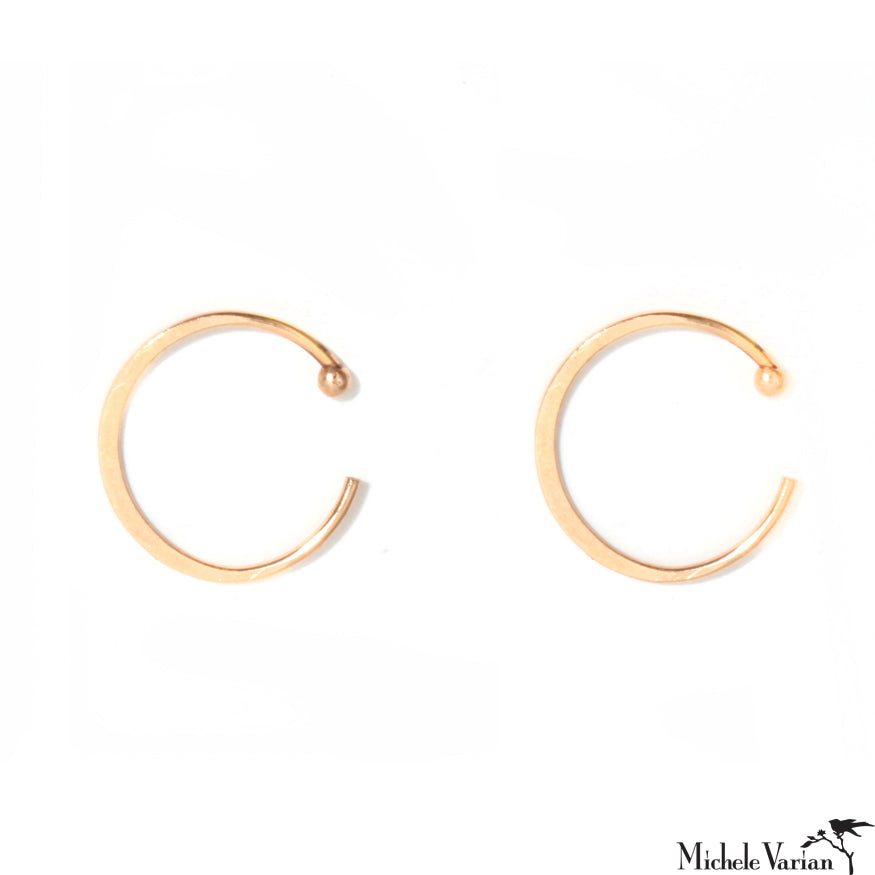 Large Gold Huggy Hoops