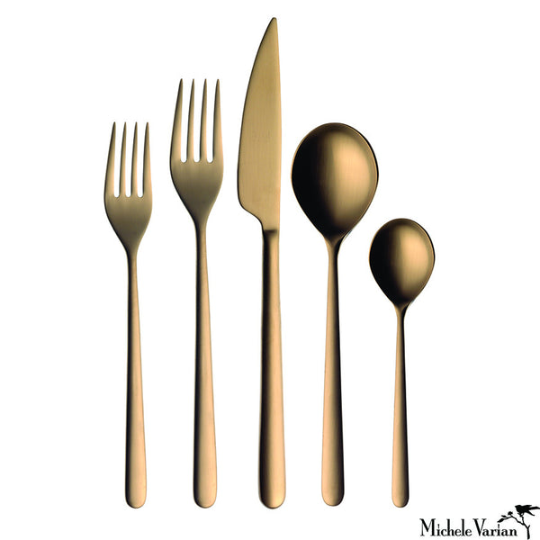 Brushed Gold Cutlery