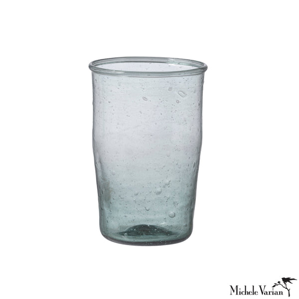Large Water glass Ocean Blue Large