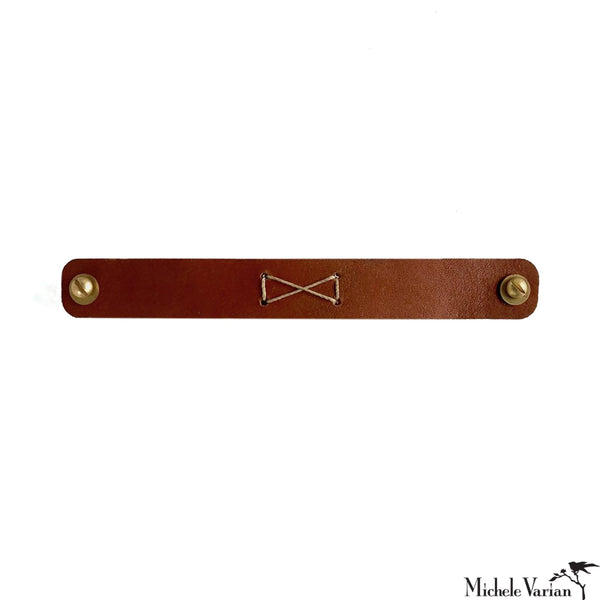 Leather Drawer Pull Set of 2