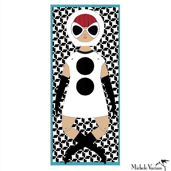 Lily Small Paper Doll