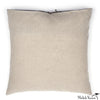 Printed Linen Pillow Starburst Plum 16x16