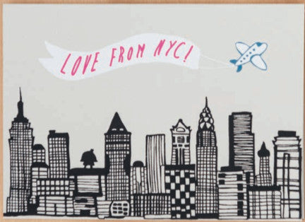 LOVE FROM NYC CARD