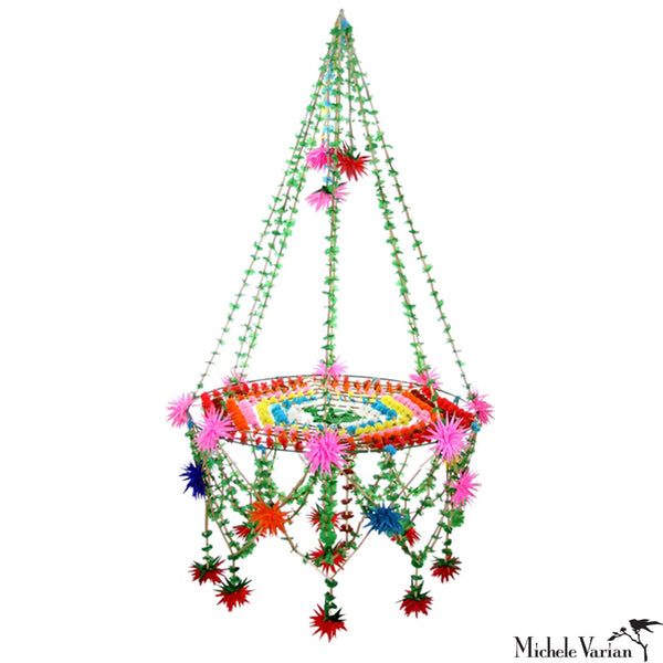Colorful Star Pajaka Chandelier Large