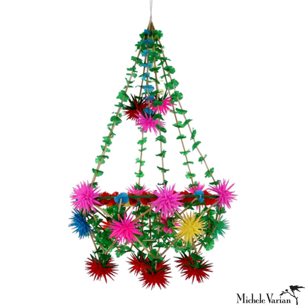 Colorful Star Pajaka Chandelier Small