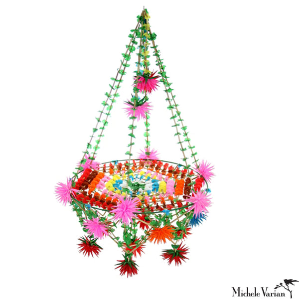 Colorful Star Pajaka Chandelier Medium