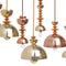 Mala Pendant Light No. 6 in Brass