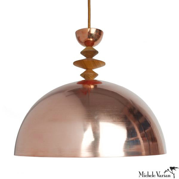 Mala Pendant Light No. 7 in Copper