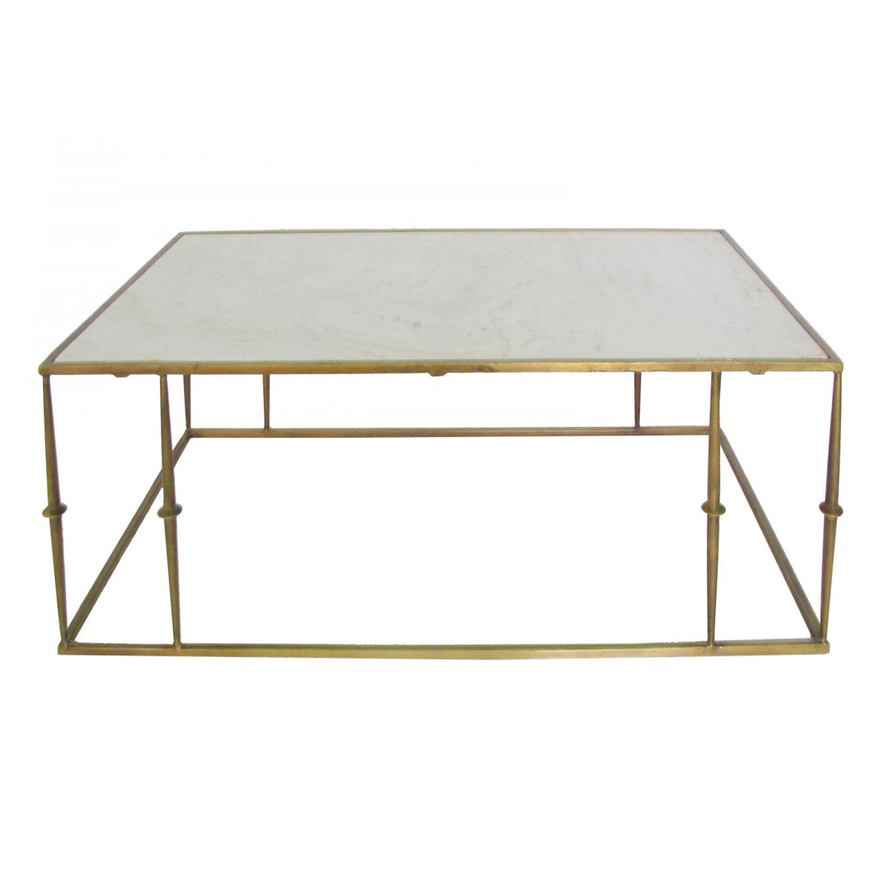 Marble Top Coffee Table - Broken Marble