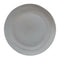 Matte Porcelain Dinner Plate Grey Set of 4