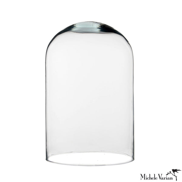 Simple Glass Dome Cover Medium